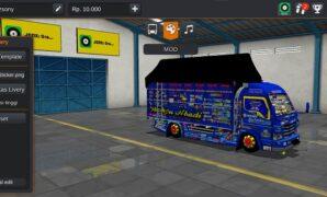 download mod truck wahyu abadi bussid