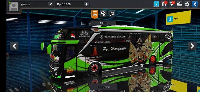 Download Mod Bus JB3 HDD Full Aksesoris DOP Bussid