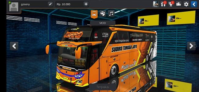 Mod Bus JB3 SHD Jernih Scania Full Anim Bussid