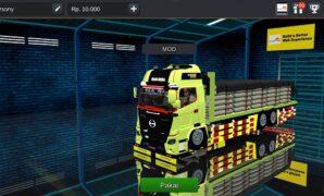 Mod bussid truck hino 500 full modifikasi