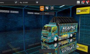 Mod Truck Fuso Terpal Segitiga Bussid Livery Jernih