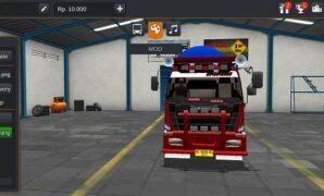 Truck Hino 500 Dump Terpal Full Anim