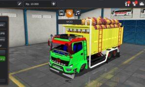 Truck Hino 500 Dump Style Kalimantan Full Anim