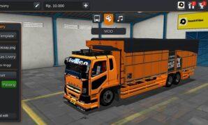 Truck Fuso New Fighter Mbois Full Anim