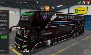 Bus Pandawa JB3+ SDD Voyager Full Anim