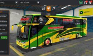 Bus JB3+ Voyager Hino RK Putra Luragung Full Anim