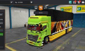 Truck Hino 500 Alcoa Full Anim