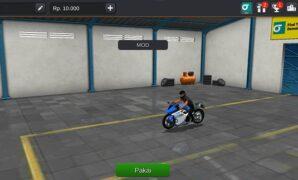 Motor Kawasaki Ninja ZX25 R Full Anim
