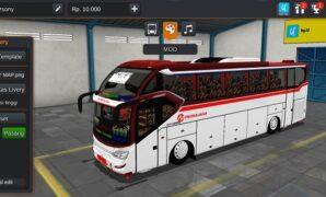 Bus Primajasa SR2 XHD Prime Hino Full Anim