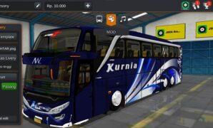 Bus Kurnia Tronton Scania Full Anim