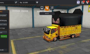 Truck Canter Kalimantan Full Anim