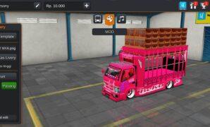 Truck Canter Ayam Racing Full Anim