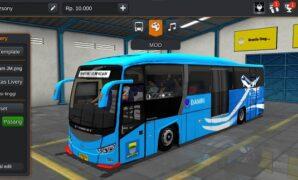 Bus Damri Evonext Full Anim
