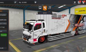 Truck Fuso Box ABC Logistic Full Anim