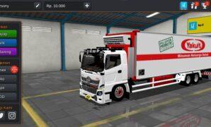Truck Hino 500 Box Yakult Full Anim