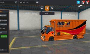 Truck Box Indah Cargo Logistic Full Anim