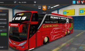 Bus Gunung Harta JB2 SHD Tronton Full Anim