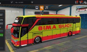 Bus Bima Suci JB3+ SHD Full Anim