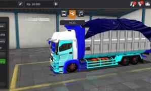 Truck Hino Dump Beban Berat Full Anim
