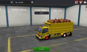 Truck Dump Muatan Sawit Full Anim