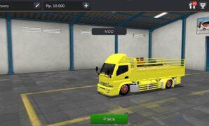 Truck Canter Bangunan Muatan Semen Full Anim