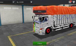 Truck Hino Full Terpal Ukuran Panjang Full Anim