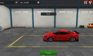 Mobil Nissan GTR Racing Full Anim