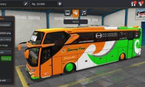 Bus JB3+ Setra Gapuraning Rahayu SHD Full Anim