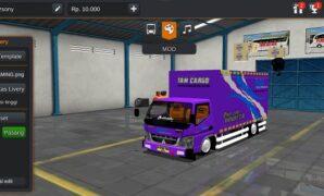 Truck Canter Box TAM Cargo Full Anim