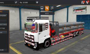 Truck Nissan UD Quester Full Anim