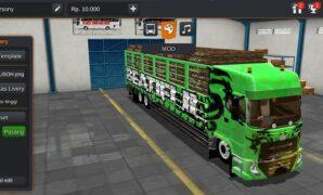 Truck Quester Hino Full Anim dan Muatan