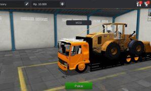 Truck Fuso Muatan Bulldozer 3D Full Anim