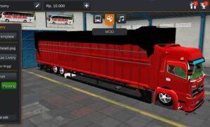Truck Hino 500 Tronton Panjang Banget Full Anim