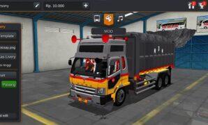 Fuso Dump Truck Full Anim Super HD