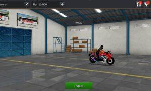 Motor CBR 150 R Knalpot Racing