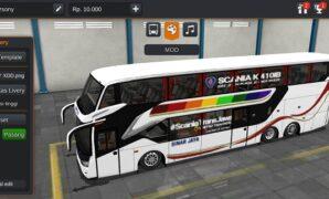 Bus Sinar Jaya SR2 Double Decker Full Anim