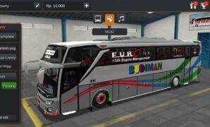 Bus Budiman JB3+ HDD Full Anim