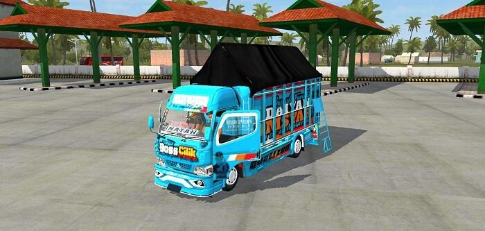 download mod bussid truck bos cilik