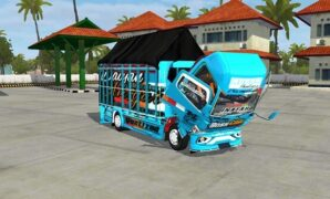 Mod Bussid Bos Cilik (Truck Canter Muat Cabe) Full Animasi