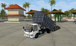 Dump Truck Isuzu Full Anim + Muatan Berat
