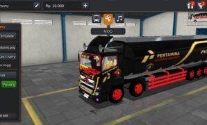 Truck Hino Tribal Pertamina Turbo Full Anim
