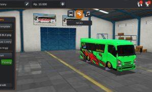Mobil Isuzu ELF NLR 55 BLX Full Anim