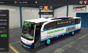 Bus Safari Dharma Jaya OBL Full Anim