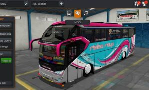 Bus Rimba Jaya SR2 S Series Full Anim
