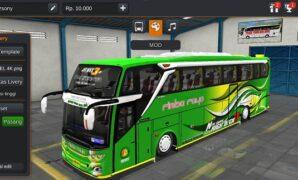 Bus Rimba Jaya JB3+ SHD Mercy Full Anim
