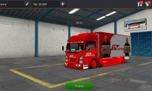 Truck Isuzu J&T Express Full Anim