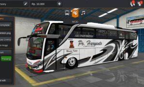 Bus PO Haryanto Ceper Full Anim