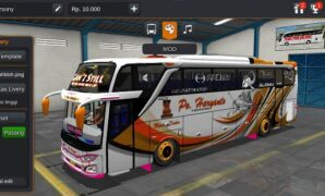 Bus PO Haryanto Non Facelift Full Anim