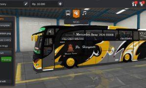 Bus Haryanto JBHD Full Anim