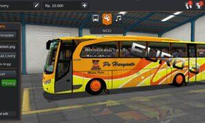 Bus Haryanto Euro 3 Full Anim + Penumpang